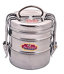 Aristo tiffin 6x3 Stainless Steel Tiffin Lunch Box