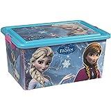 ColorBaby - Caja ordenación 23 litros, diseño frozen (76612)