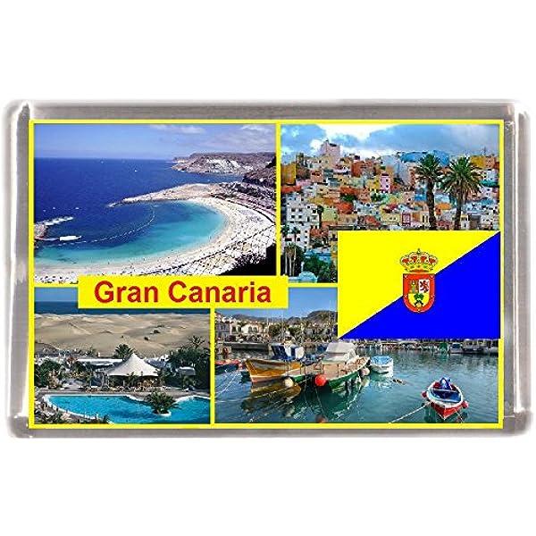 Magnetic Shield Fridge Magnet Magnetic-Love Maspalomas I Gran Canaria