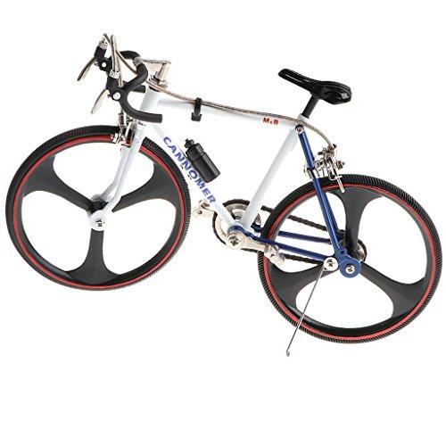 Baoblaze 1:10 Diecast Mini Metall Fahrrad Einrad Rennrad Bike Modell für Haus/Büro Ornament Deko - # 9