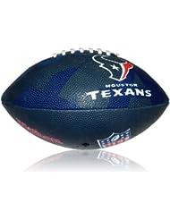 Wilson Football NFL Junior Houston Texans Logo - Balón de fútbol americano ( infantil, caucho ) , color multicolor, talla 5