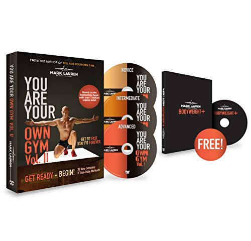 Price comparison product image Mark Lauren DVD | You Are Your Own Gym Vol. II: Bodyweight Exercise 3 DVD Set