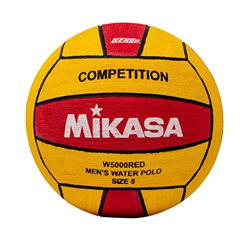 Mikasa w5000red Wettbewerb Spiel Ball, rot/gelb, Größe 5