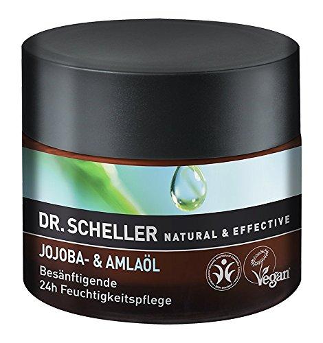 Dr. Scheller Jojoba- und Amlaöl Besänftigende 24h Feuchtigkeitspflege, 1er Pack (1 x 0.05 l)
