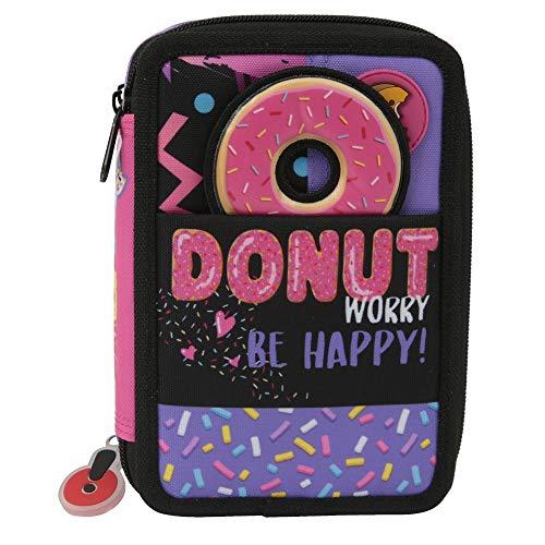 Giochi preziosi gopop 19 astuccio triplo donut custodia, 22 cm, multicolore