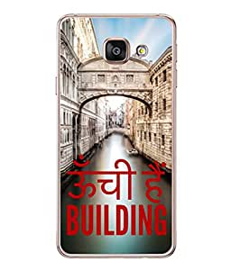 Fuson Designer Back Case Cover for Samsung Galaxy A3 (6) 2016 :: Samsung Galaxy A3 2016 Duos :: Samsung Galaxy A3 2016 A310F A310M A310Y :: Samsung Galaxy A3 A310 2016 Edition (Famous Movie Dialogue Filmy Men Man Ladies)