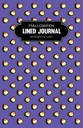 Halloween Lined Journal 120 Pages 5.5