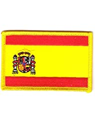 Flaggen Aufnäher Patch Spanien Flagge Fahne NEU