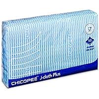 Chicopee J-cloth Plus Bleu–Lot de 50Taille 36x 34cm