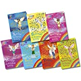 Rainbow Magic Series 5 Pet Keeper Fairies Collection 7 Books Pack Set (Books 29 To 35)