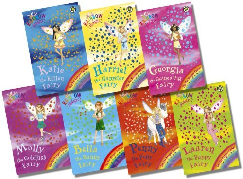 Rainbow Magic Pet Keeper Fairies Collection - 7 Books RRP 34.93 (29: Katie t...