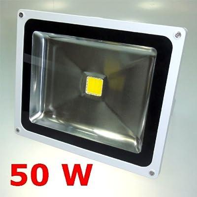 50 W LED Fluter Strahler KALTWEISS IP65 von Dyntronic GmbH auf Lampenhans.de