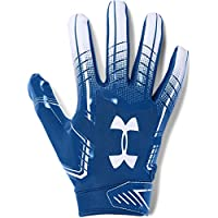 Under Armour - Guanti Football UA F6 - Royal/White - X-Large