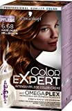 Schwarzkopf Color Expert Intensiv-Pflege Color-Creme 6.68 Haselnuss-Hellbraun, 3er Pack (3 x 167 ml)