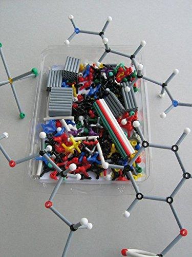 Weiß Manuelle Auswahl (ORBIT Molekülbaukasten Chemie: Profi-Set mit 460 Teilen und farbigem Booklet)