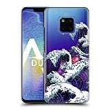 Head Case Designs Rollen Galaxie Wellen Ruckseite Hülle für Huawei Mate 20 Pro