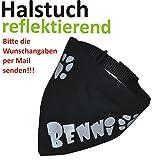 Bild: SpecialPetshop Halstuch mit reflektierendem Namen Gr S  Wunschangaben separat als Mail