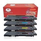 Toner Kingdom 4 Pack kompatibel Samsung CLT-K4072S CLT-C4072S CLT-M4072S CLT-Y4072S Tonerpatronen für Samsung CLP-320 CLP-320N CLP-320W CLP-320N CLP-325 CLP-325N CLP-325W CLX-3180 CLX-3180FN CLX-3180FW CLX-3185 CLX-3185F CLX-3185FN CLP-3185FW CLX-3185N CLX-3185W Drucker (1 Schwarz,1 Cyan,1 Gelb,1 Magenta)