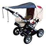 Sunnybaby Universal Sun Shade for Pram or Stroller (Black)