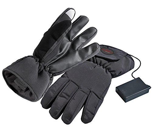 infactory Beheizbare Handschuhe Gr. S / 6,5 elektrisch batteriebetrieben Elektrisch Beheizbare Handschuhe