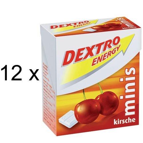 Dextro Energy Minis Kirsche, Traubenzucker (12x 50g Packung)