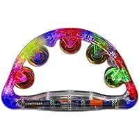The Glowhouse Flashing & Light up Tambourine UK Brand