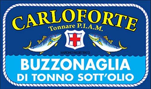 Buzzonaglia di tonno di corsa Tonnare PIAM in olio di oliva, 170gr