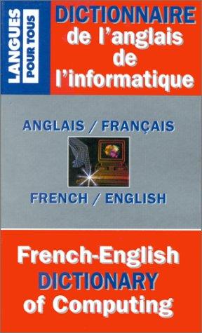 Dictionnaire de l'anglais de l'i...