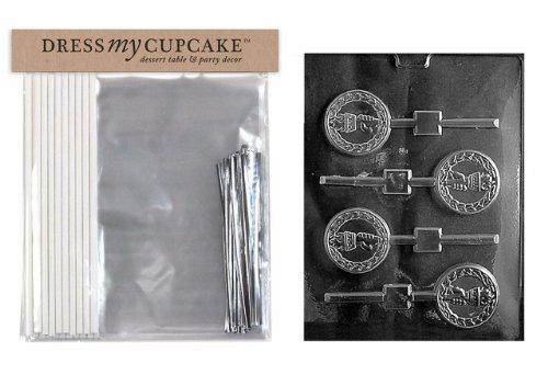 Kleid My Cupcake dmckits074Schokolade Candy Lollipop Verpackung Kit mit Form, Taschenlampe Lollipop