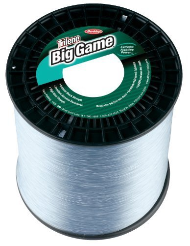 Berkley Trilene Big Game Monofilament 5-pound Spool (40-pound, Clear) by Berkley