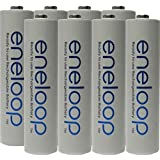 Panasonic Eneloop AAA 4th Generation NiMH Pre-Charged Rechargeable 2100 Cycles 8 Batteries + Free Battery Holder