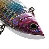#10: Magideal Life-like Fishing Lures Artificial Bait Plastic Hard Baits Hook Crankbait