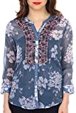 Colors Couture Mix Media Shirt