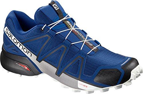 Salomon Speedcross 4 GTX, Zapatillas de Trail Running Hombre, Azul (Mazarine Blue Wild/Black/White), 48 EU