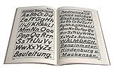 Image de Handgeschriebene Schriften: Schriftenvorlagen für einfach und leichtauszuführende Beschr