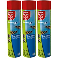 3 x 500 ml Bayer Blattanex Wespenschaum Wespenspray