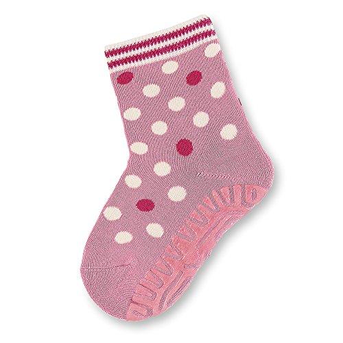Sterntaler Baby - Mädchen Socken Fli Fli SOFT Punkte 8141714, Gepunktet, Gr. 20, Rosa (geranie 723)