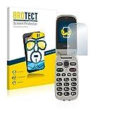 BROTECT Schutzfolie kompatibel mit Doro PhoneEasy 632 (2 Stück) klare Bildschirmschutz-Folie