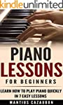 Piano Lessons For Beginners: Learn Ho...