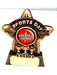 """3.75"""" Mini Star Sports day Award Trophy with FREE Engraving"""