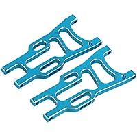BQLZR azul RC1: 10Buggy Piezas de actualización 106021trasero de aluminio inferior brazo de suspensión para HSP 94106Pack de 2