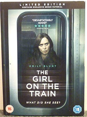 LIMITED EDITION The Girl On The Train DVD