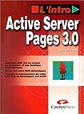 Telecharger Livres Active Server pages avec CD Rom (PDF,EPUB,MOBI) gratuits en Francaise