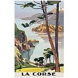 Editions Clouet 50337 - Affiche Touristique 50x70 cm PLM - Balade en Corse