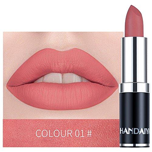 Tagether 12 Farbe Matt Lippenstift,Lippenstift matte Lipgloss,Europe Style Matte Lipstick Lippenstift High End Gift Lip Gloss 12 Color Long Lasting Lips Cosmetics