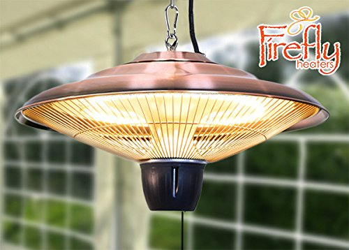 1.500 Watt FireflyTM Deckenheizstrahler, kupferfarben