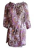 Couture Line Tunika Strandbluse Longshirt lila, Gr.44