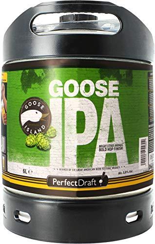 6l Perfect Draft Fass inkl. 5 Euro Pfand (Goose Island IPA 6l PerfectDraft Fass)