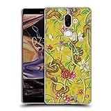 Head Case Designs Offizielle Celandine Morgen Song Senf Wilde Kerle Soft Gel Hülle für Nokia 7 Plus