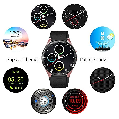 b5847d4e3 Teepao KW88 3G Smart Watch WIFI Smartwatch Cell Phone All-in-One Bluetooth  Smart